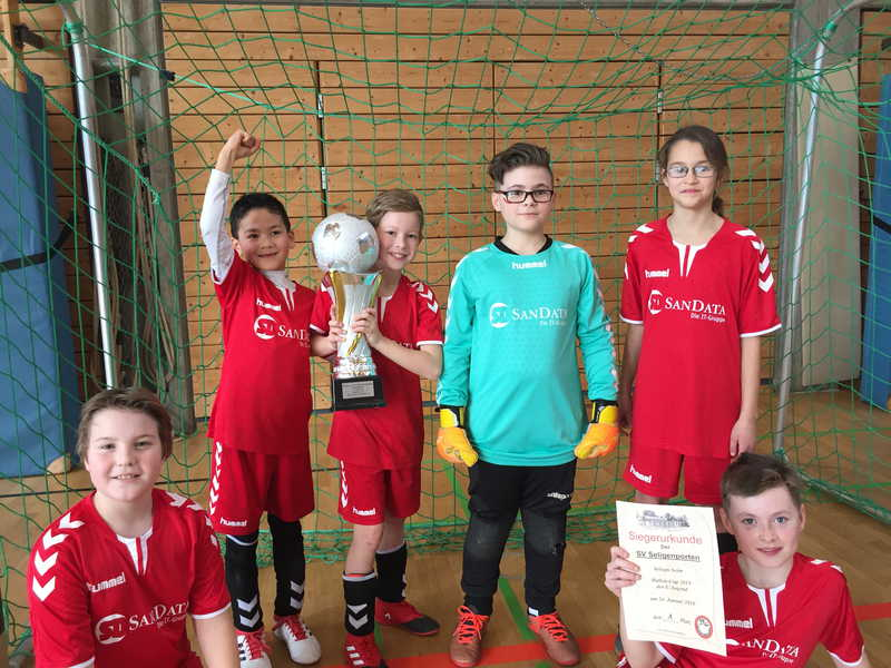 E-Jugend des SVS zwei Mal in Folge Turniersieger