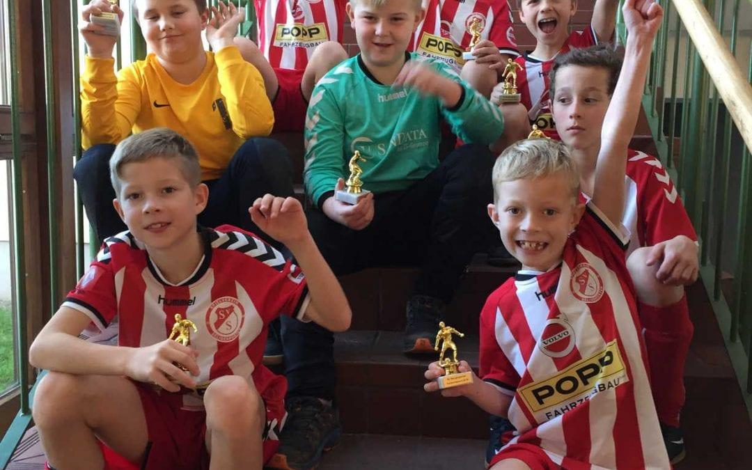 Jugend-Hallenmasters beim SV Seligenporten wieder ein voller Erfolg