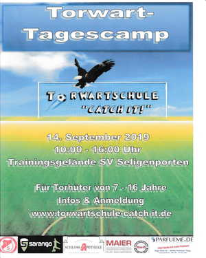 Torwart-Training-Tagescamp 2019