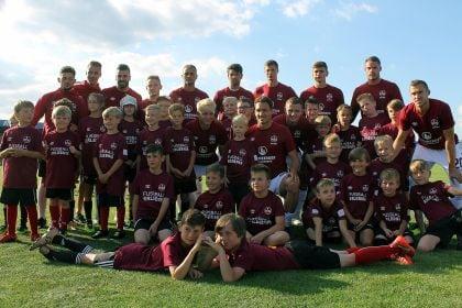Fußballfest im Kloster