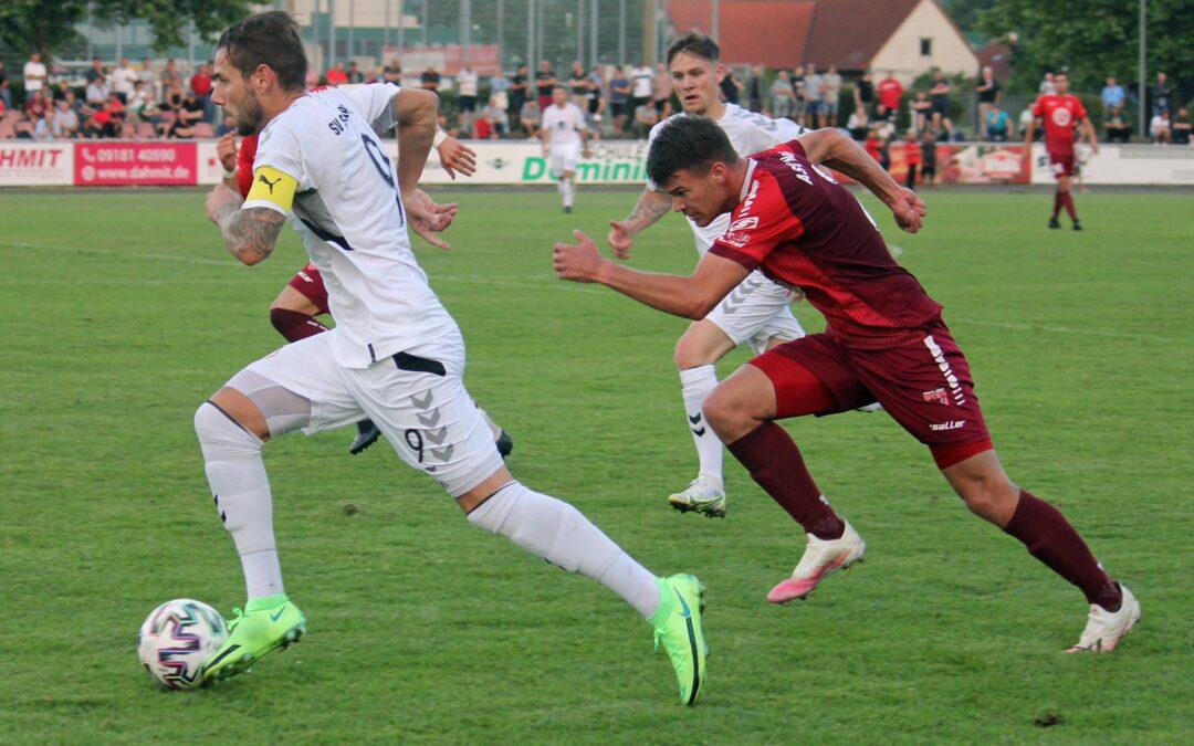 Spielankündigung gegen FCE Bamberg